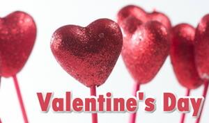 バレンタイン装飾/お配りチョコ