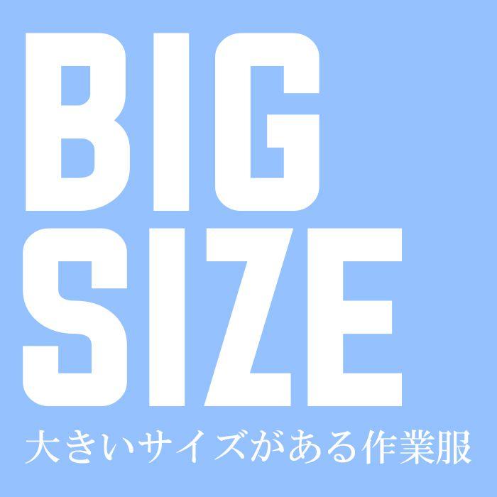 大きいサイズがある作業服