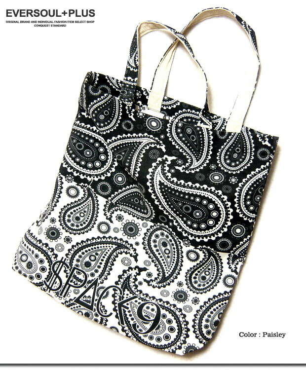 The Bag Paisley Whole Pattern Print Tote Which Eco Has A