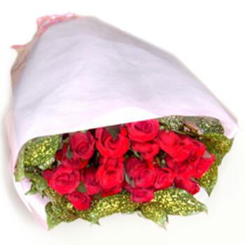 豪華なランの花束