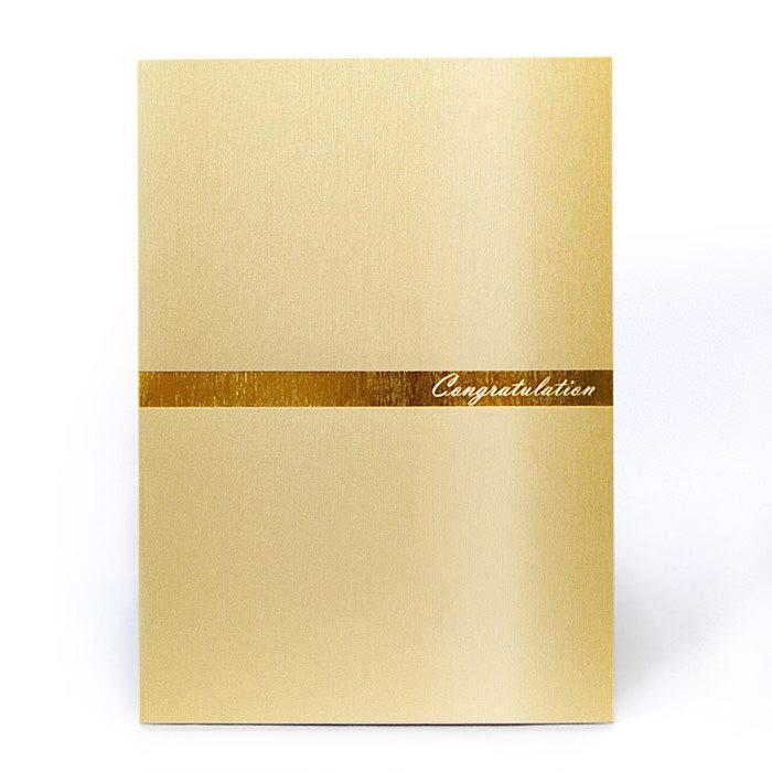 紙素材カード電報「シルキーライン」