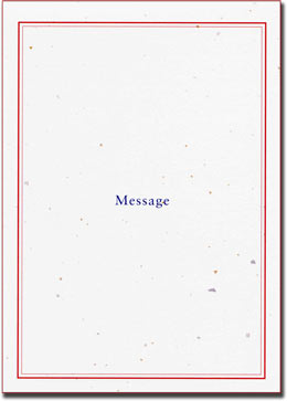 紙素材カード電報「メディアン」