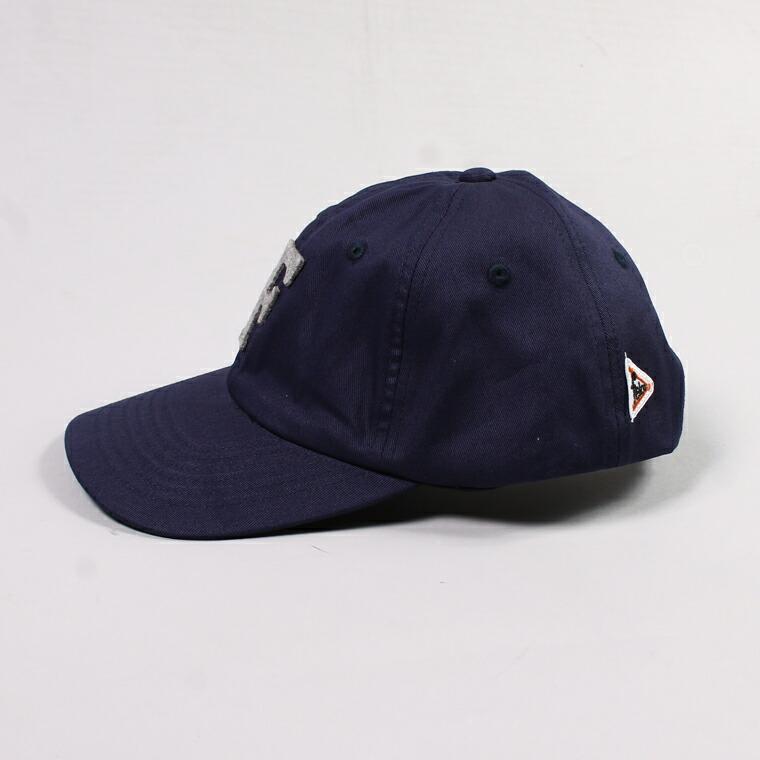 FELCO (フェルコ)  TWILL BB CAP/ NAVY / F GREY HEATHER