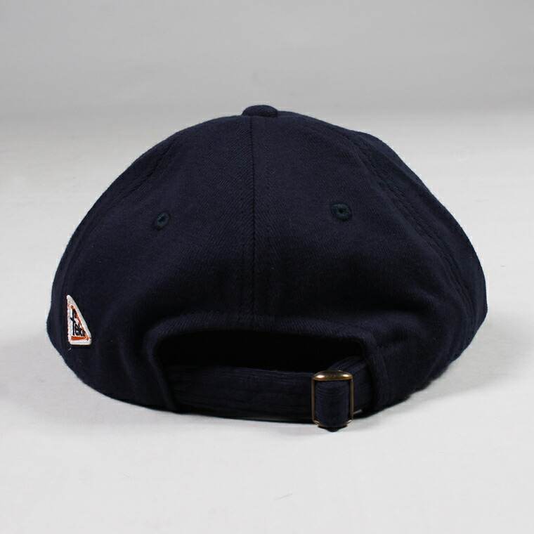 FELCO (フェルコ)  SWEAT BB CAP  - NAVY / F NATURAL