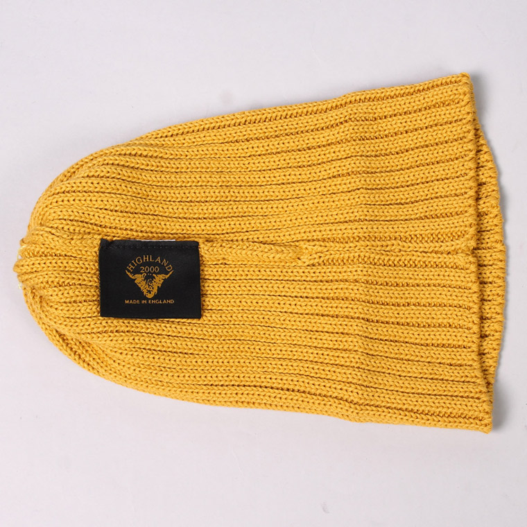HIGHLAND 2000 (ハイランド2000)  2×1 COTTON SHORT WATCH CAP - INCA