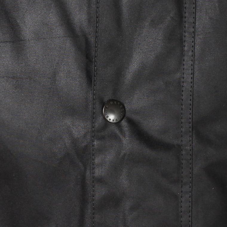 BARBOUR (バブァー)  BEAUFORT WAX JACKET - BLACK