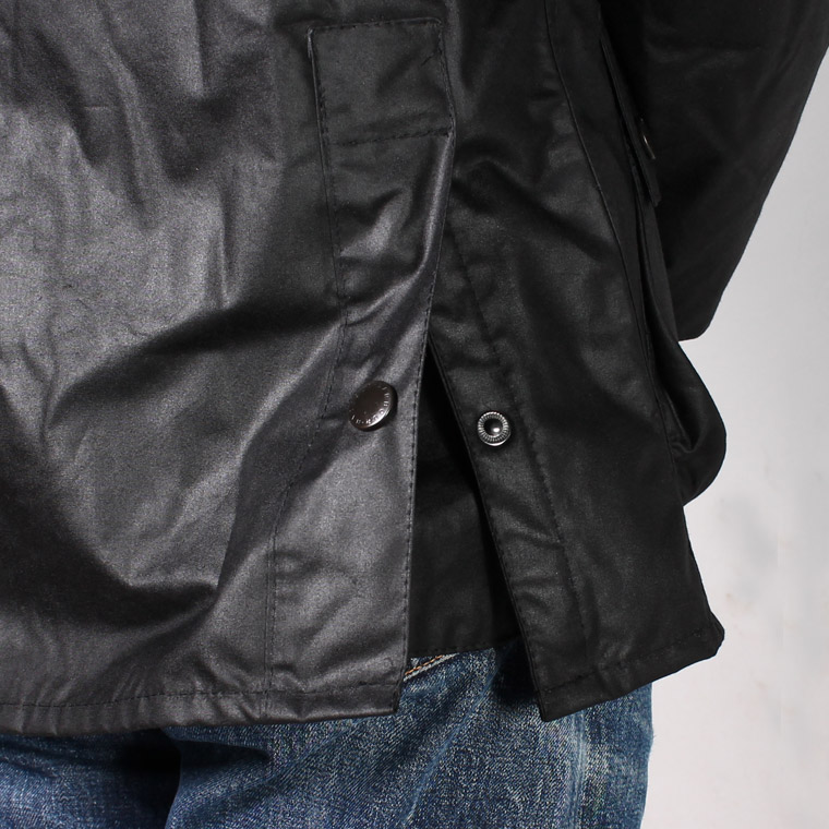 BARBOUR (バブァー)  BEDALE WAX JACKET - BLACK