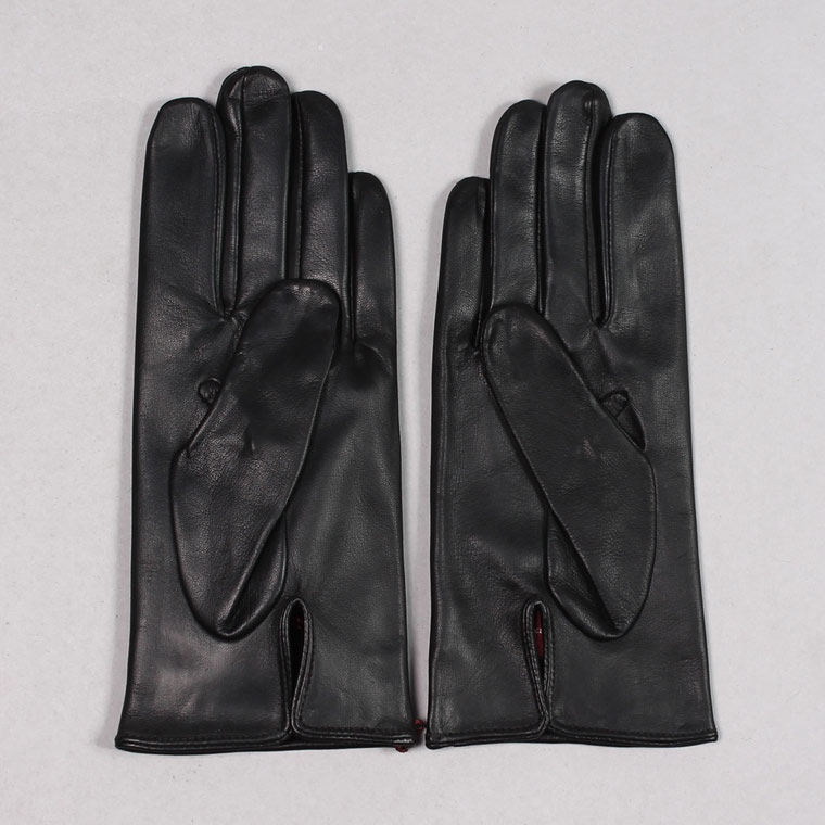 DENTS (デンツ)  MILTON - UNLINED HAIR SHEEP GLOVE - BLACK