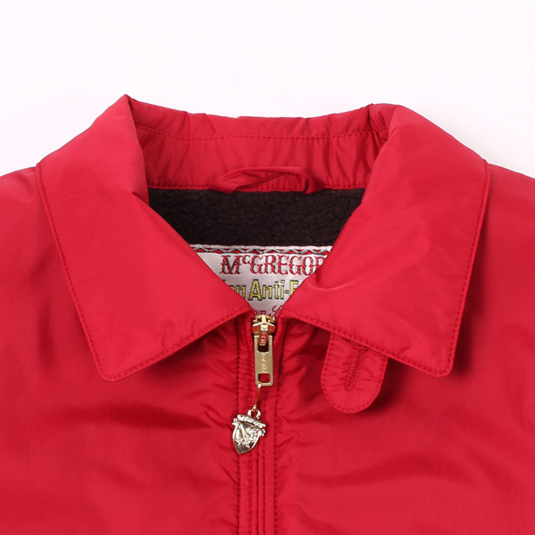 McGREGOR (マックレガー)  NYLON ANTI FREEZE JACKET - RED