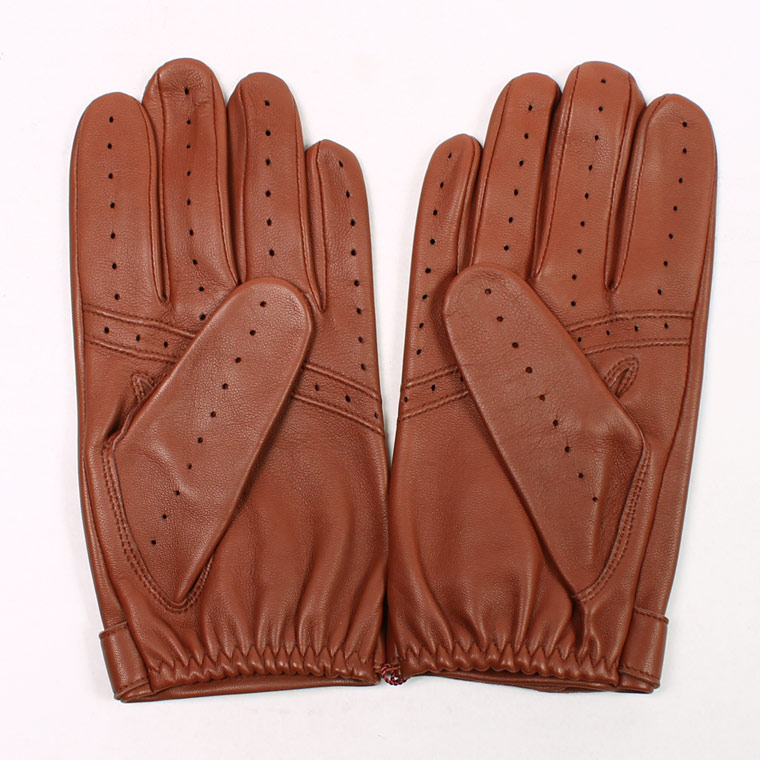 DENTS (デンツ)  FLEMMING - UNLINED HAIR SHEEP GLOVE - HIGHWAY TAN