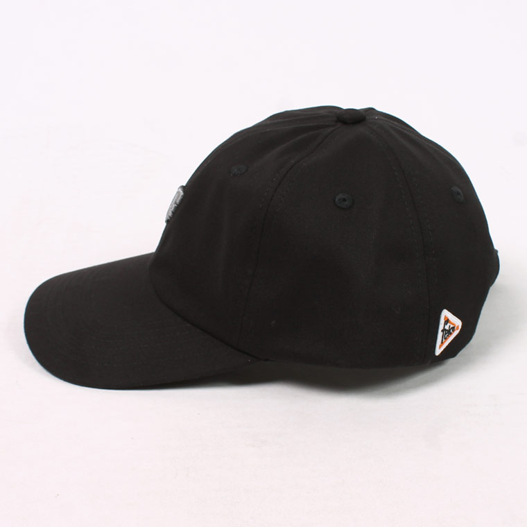 FELCO (フェルコ)  TWILL BB CAP wSMALL EMBROIDERY - BLACK F MED GRAY