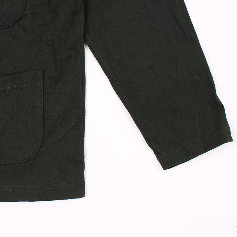 FELCO (フェルコ)  4PATCH POCKET CARDIGAN SUPER HARD JERSEY - BLACK