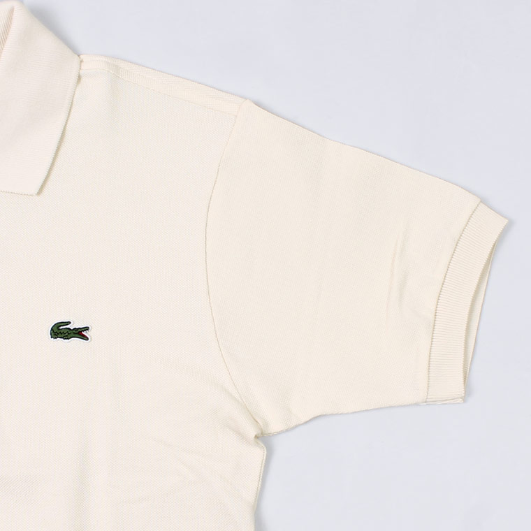 FRANCE LACOSTE (フランスラコステ)  S/S PIQUE POLO - 056 NATUREL CLAIR BEIGE