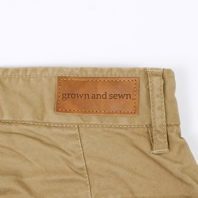 GROWN&SEWN (グロウン&ソーン)  INDEPENDENT - GHURKA