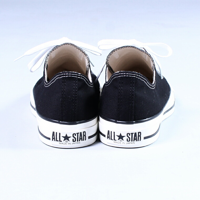 CONVERSE (コンバース)  CANVAS ALL STAR J OX / BLACK