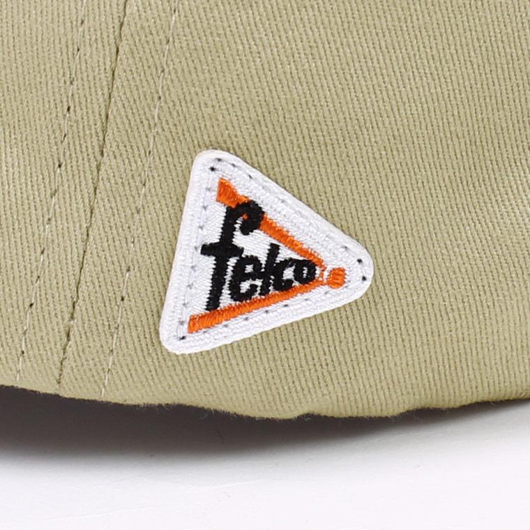 FELCO (フェルコ)  TWILL BB CAP/ KHAKI_F_NATURAL