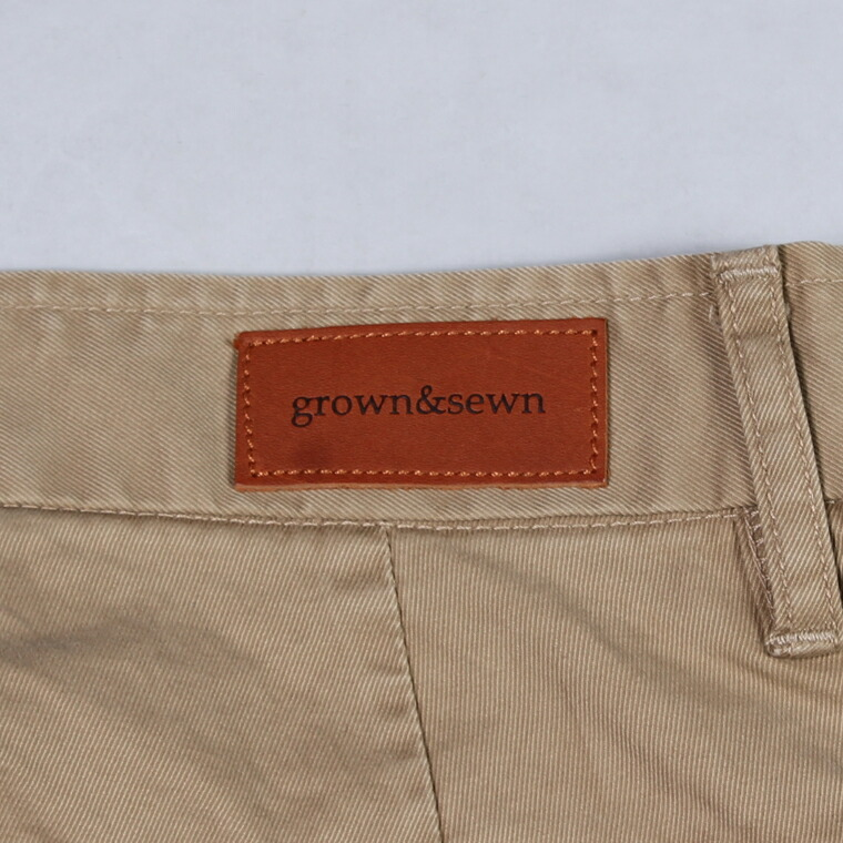 GROWN&SEWN (グロウン&ソーン)  INDEPENDENT - GHURKA