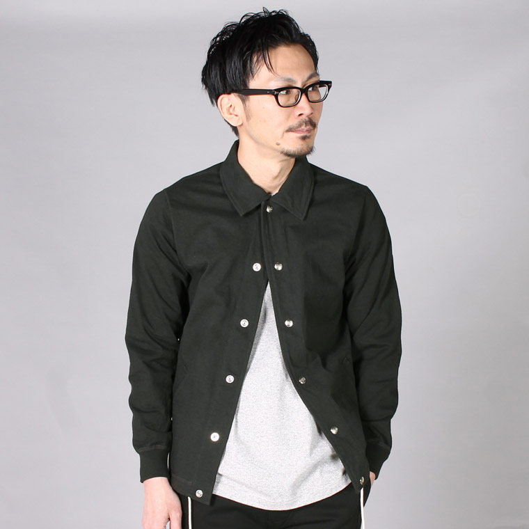 FELCO (フェルコ)  COACH JACKET SUPER HARD JERSEY - BLACK