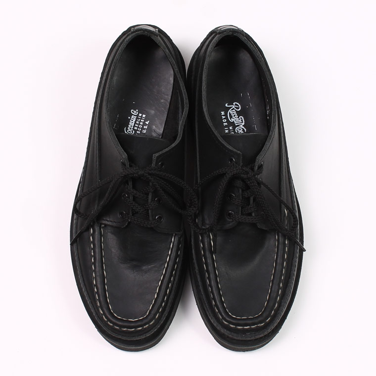 RUSSELL MOCCASIN (ラッセル モカシン)  ONEIDA SINGLE VAMP - BLACK OIL TAN