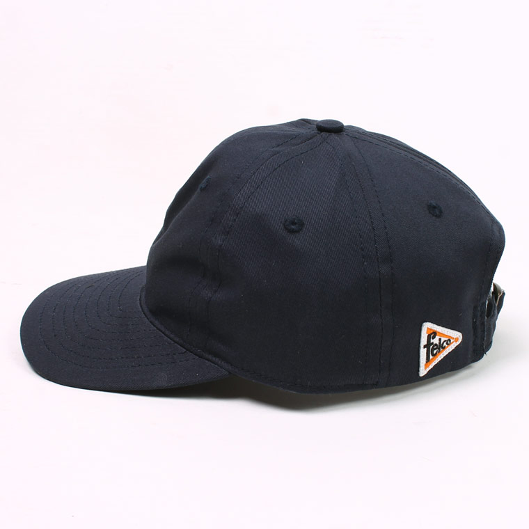 FELCO (フェルコ)  TWILL 6 PANEL BB CAP MADE IN U.S.A. - NAVY
