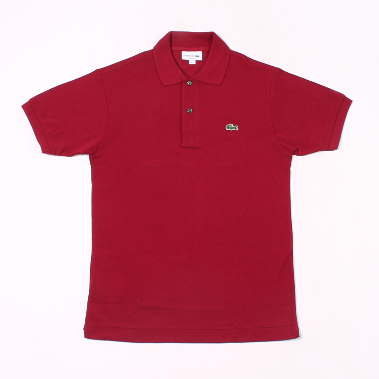 FRANCE LACOSTE (フランスラコステ)  S/S PIQUE POLO - 476 BORDEAUX