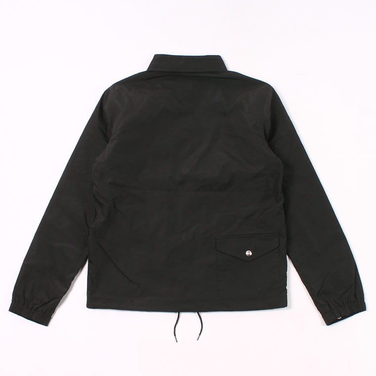 FELCO (フェルコ)  COACH JACKET SNAP BUTTON WATER PROOF NYLON - BLACK