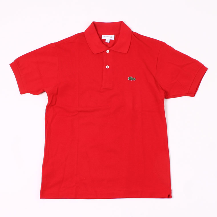 FRANCE LACOSTE (フランスラコステ)  S/S PIQUE POLO - ROUGE RED 240