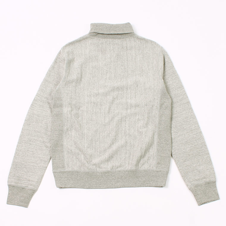 FELCO (フェルコ)  12oz TERRY TURTLE INVERSE WEAVE V GUSSET - GREY HEATHER