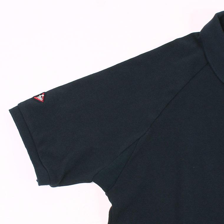 【Munsingwear x FELCO (マンシングウェア x フェルコ)】  S/S RAGLAN SLEEVE POLO - NAVY ポロシャツ メンズ