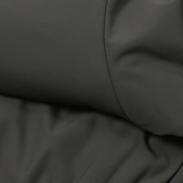 FELCO (フェルコ)  PUFFBALL HOOD JACKET STRETCH NYLON - CHARCOAL