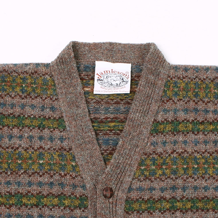 JAMIESON'S (ジャミーソンズ)  AOFI V NECK CARDIGAN - 465 - 5