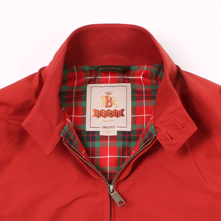 BARACUTA (バラクータ)  G9 ORIGINAL - DARK RED