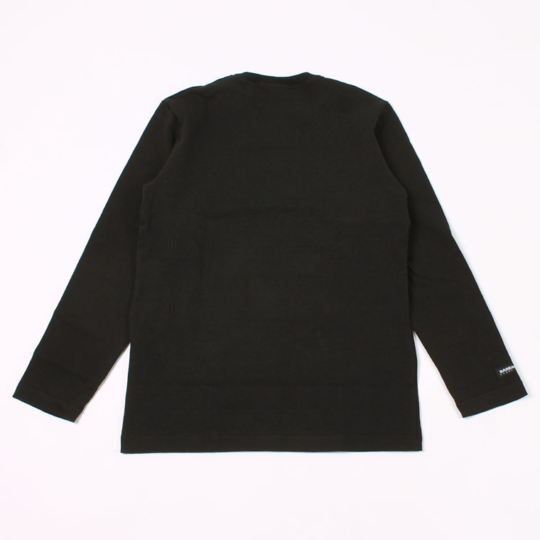 BARBARIAN (バーバリアン)  EXCLUSIVE L/S CREW NECK SOLID - BLACK