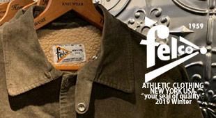FELCO フェルコ,2019秋冬新作 2019fw,名古屋 メンズファッション セレクトショップ Explorer エクスプローラー,通販 通信販売