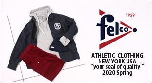 FELCO フェルコ,2020春夏新作 2020ss,名古屋 メンズファッション セレクトショップ Explorer エクスプローラー,通販 通信販売