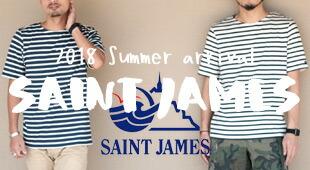 SAINT JAMES セントジェームス 2018春夏,名古屋 メンズファッション セレクトショップ Explorer エクスプローラー,通販 通信販売