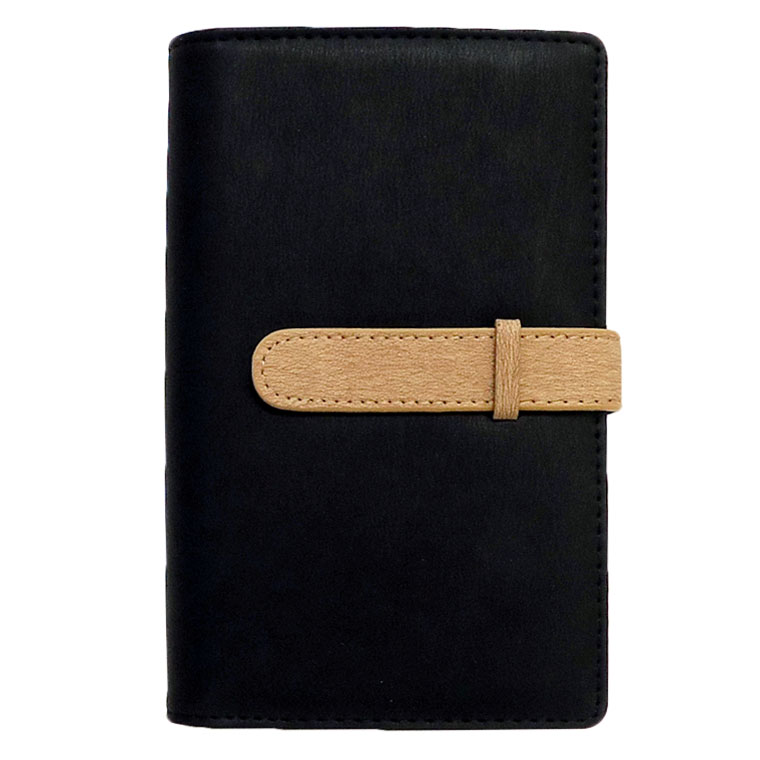 exrevoの小物/パスケース・定期入れ・カードケース|ブラック×ベージュ