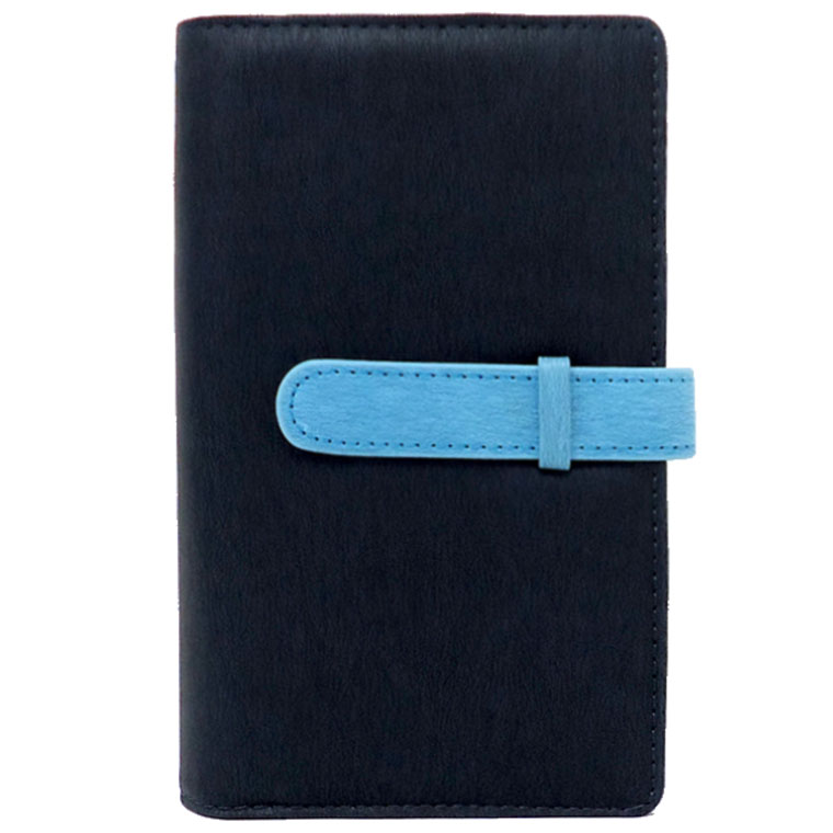 exrevoの小物/パスケース・定期入れ・カードケース|ネイビー×ブルー