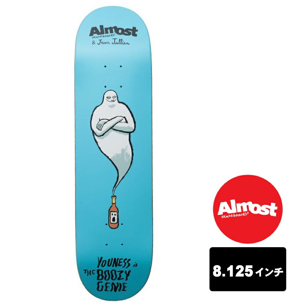 楽天市場 almost スケートボード デッキ 8 125インチ jean jullien