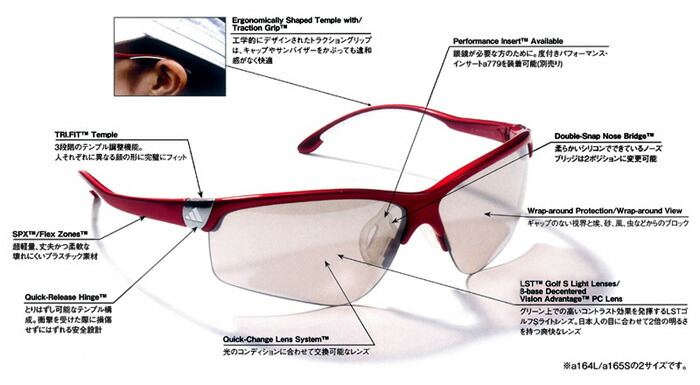 adidas sunglasses parts