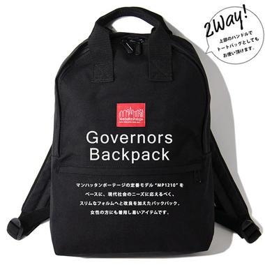 Manhattan Portage マンハッタンポーテージ Governors Backpack ガバナーズ バックパック