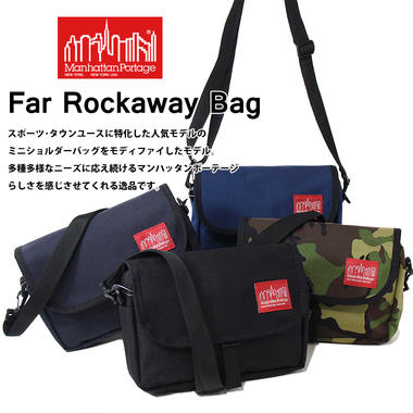 Manhattan Portage マンハッタンポーテージ Far Rockaway Bag ファー ロッカウェー バッグ