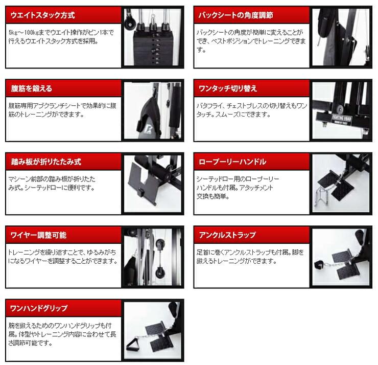DXホームジム トレーニング方法