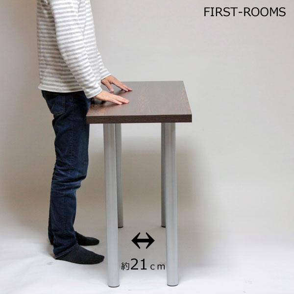 薄型カウンターテーブル スタンディングデスク 奥行45