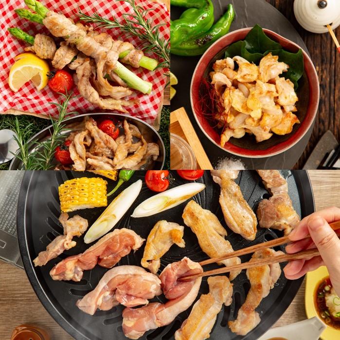 北海道紋別市 【ふるさと納税】10-324 紋別名物 流氷昆布締め鶏3種の食べ比べセット