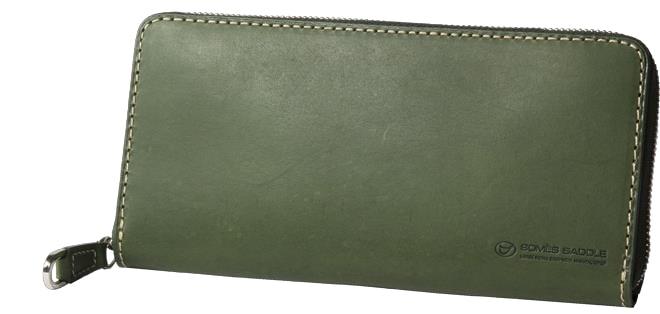 58708c049bee ふるさと納税】[PA-11]SOMES PA-11 オンライン ラウンド財布(グリーン ...