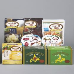 よつ葉の贈りもの チーズ類とバターのセット