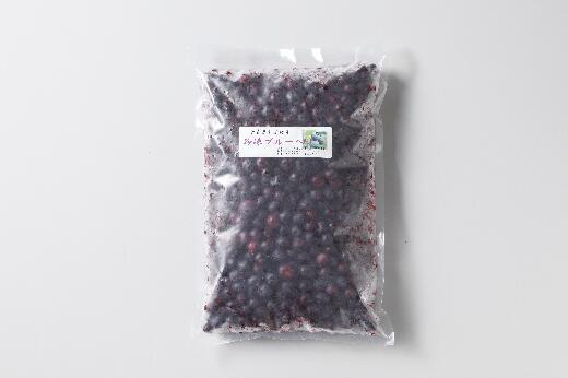 青森県東通村 【ふるさと納税】冷凍ブルーベリー(1kg)