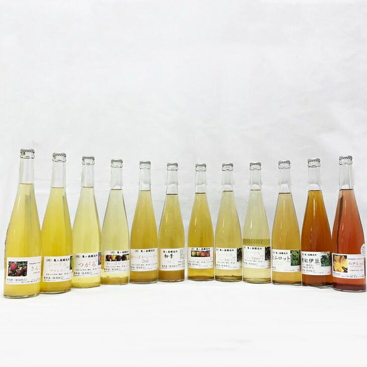 岩手県花巻市 【ふるさと納税】花巻産シードル&ワイン12本(500ml)飲み比べセット
