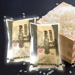 ヨシ腐葉土米 精米4kg(2kg×2袋)